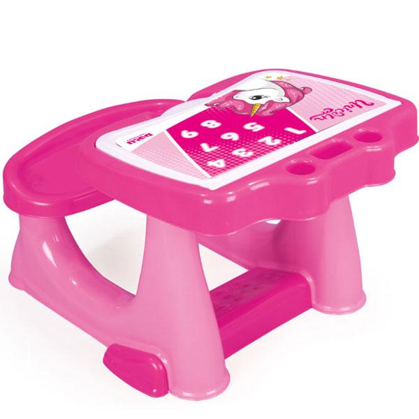 Stočić sa klupicom roze Unicorn Jednorog Dolu 025609 - ODDO igračke