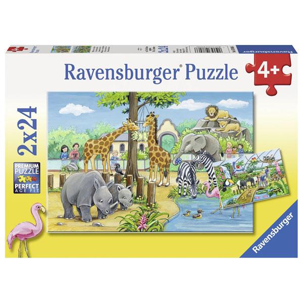 Ravensburger puzzle (slagalice)- Dobrodosli u ZOO RA07806 - ODDO igračke