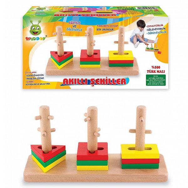 Drvena slagalica Igra set 500548 - ODDO igračke