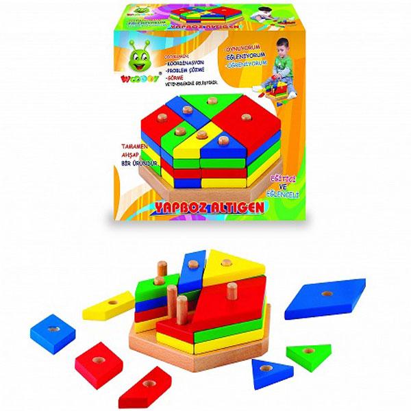 Drvena slagalica Igra set 500630 - ODDO igračke