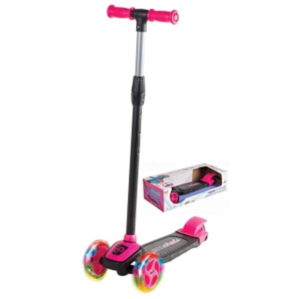 Skuter/Trotinet Cool Wheels svetleći roze sa tri točka Twist FR58048 - ODDO igračke