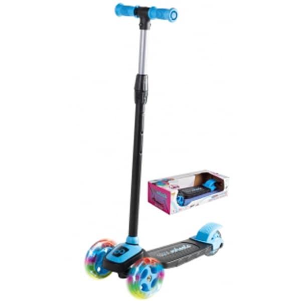 Skuter/Trotinet Cool Wheels svetleći plavi sa tri točka Twist FR58055 - ODDO igračke