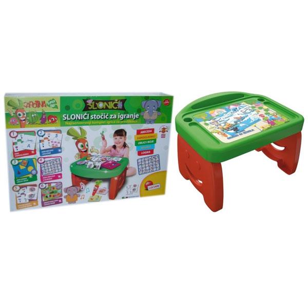 Stočić za učenje i igru Slončići 57436 - ODDO igračke