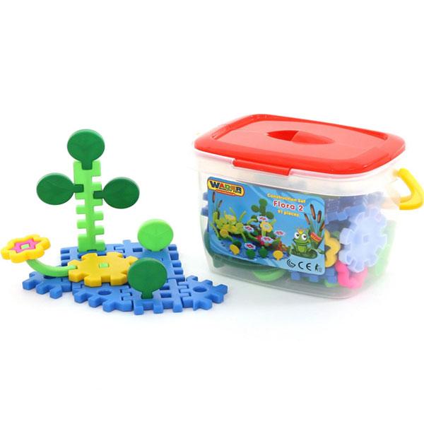 Puzzle plastične Flora 91 delova Polesie 1592 - ODDO igračke
