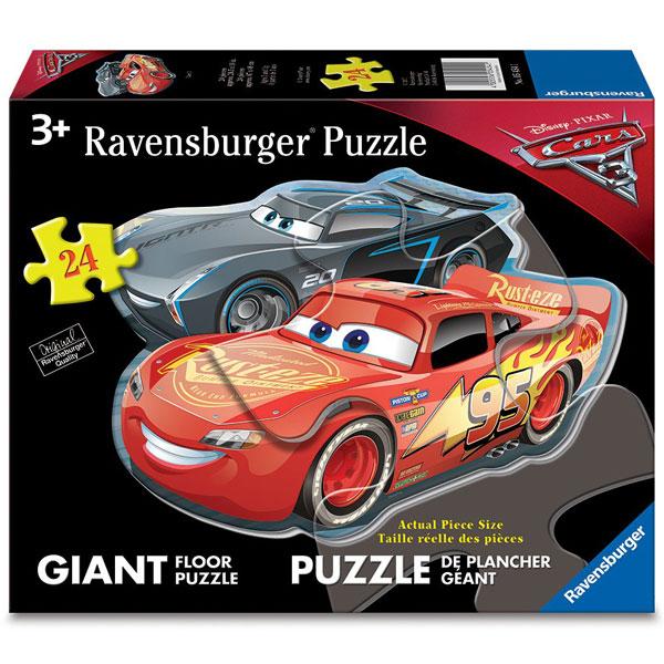 Ravensburger puzzle (slagalice) - Velike podne puzle Cars RA05454 - ODDO igračke