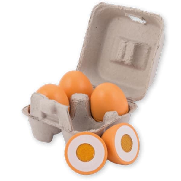 Joueco set drvena jaja 4 kom 80074 - ODDO igračke