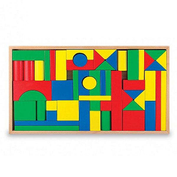 Drvene kocke slagalica 54pcs 600953 - ODDO igračke