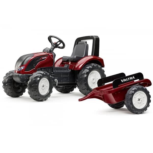 Traktor Falk na pedale Valtra sa prikolicom 4000ab - ODDO igračke