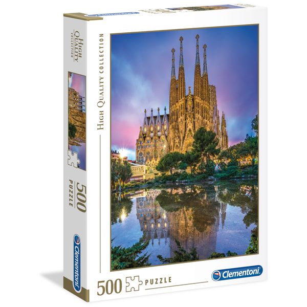 Clementoni puzzle Barcelona 500pcs 35062 - ODDO igračke
