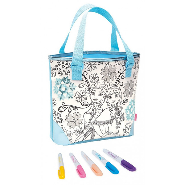 Frozen Torbica za bojenje Fashion bag Color Me Mine 40358 - ODDO igračke