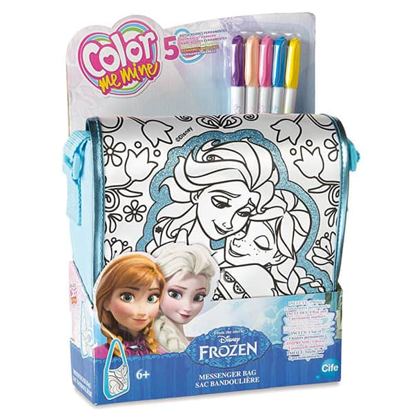 Frozen Torbica za bojenje Messenger bag Color Me Mine 86598 - ODDO igračke