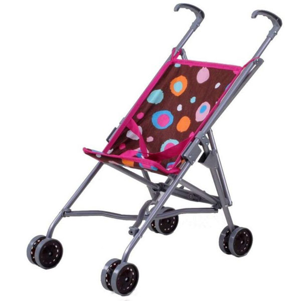 Kolica za lutke Knorr Toys Sim braon Spash 12613 - ODDO igračke