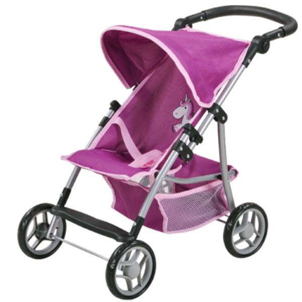 Kolica za lutke Knorr Toys Liba Unicorn pink 16872 - ODDO igračke