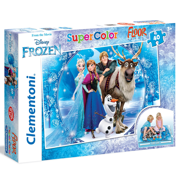 Clementoni puzzle floor kartonske 40pcs Frozen 25447 - ODDO igračke