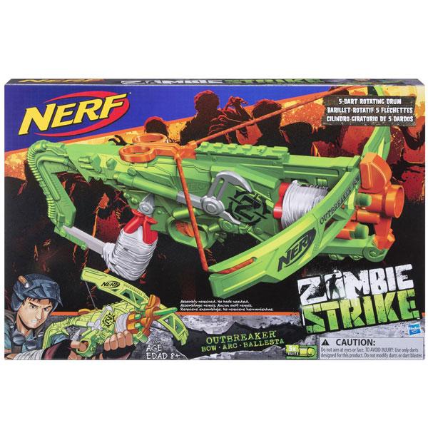 Nerf Zombie Strike Outbreaker bow 435913 - ODDO igračke