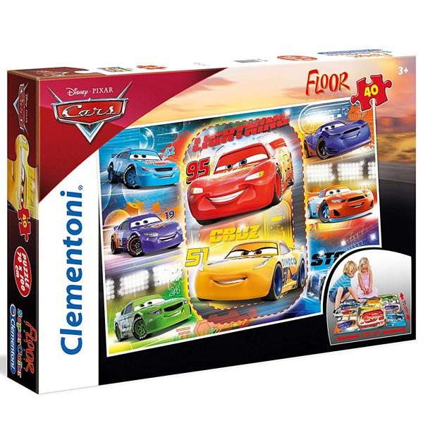 Clementoni puzzle floor kartonske 40pcs Cars 25455 - ODDO igračke