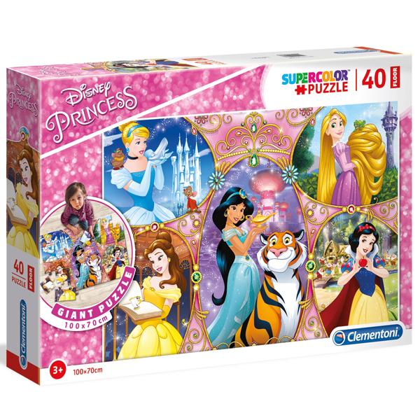 Clementoni puzzle floor kartonske 40pcs Princess 25463 - ODDO igračke