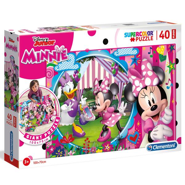 Clementoni puzzle floor kartonske 40pcs Minnie 25462 - ODDO igračke