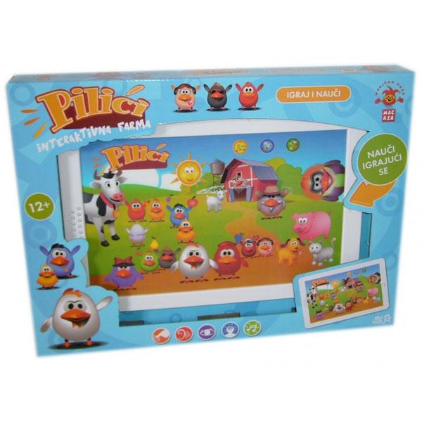 Edukativno-interaktivni tablet PILICI 82037-DW - ODDO igračke
