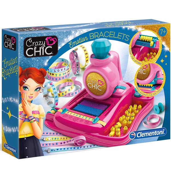 Narukvice Emotion Crazy Chic Clementoni CL15239 - ODDO igračke