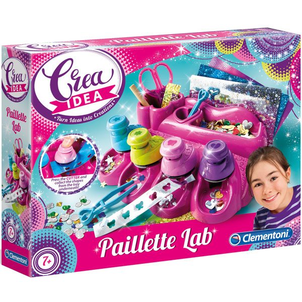 Laboratorija stikera Crea Idea Clementoni CL15279 - ODDO igračke