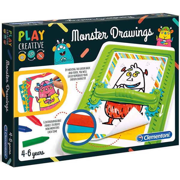 Play Creative Čudovište set Clementoni CL15276 - ODDO igračke