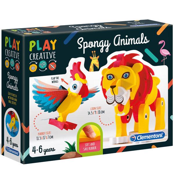 Play Creative Životinjice set Clementoni CL15271 - ODDO igračke