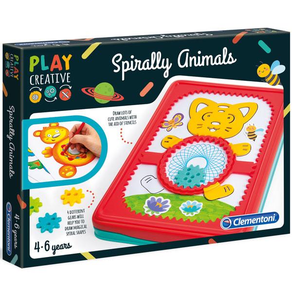 Crtamo Spiralno set Clementoni CL15275 - ODDO igračke