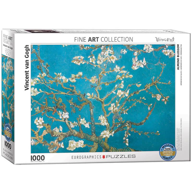 Eurographics Vincent van Gogh Almond Blossom 1000-Piece Puzzle 6000-0153 - ODDO igračke