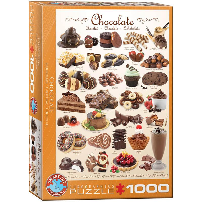Eurographics Chocolate 1000-Piece Puzzle - ODDO igračke