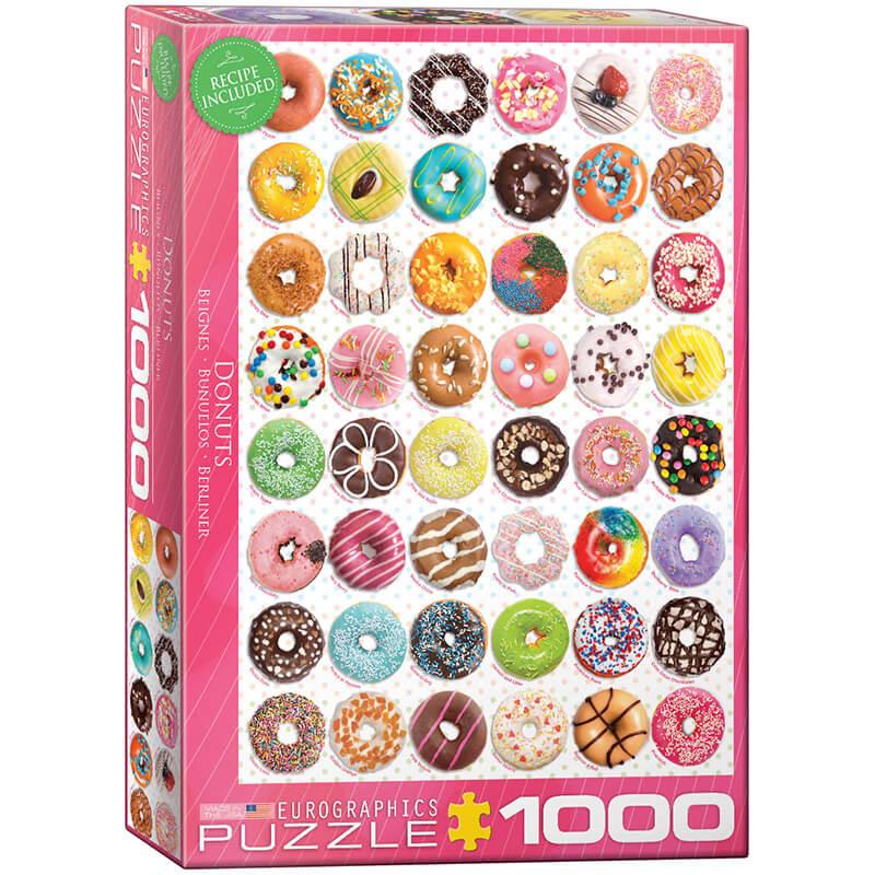 Eurographics Donuts 1000-Piece Puzzle - ODDO igračke