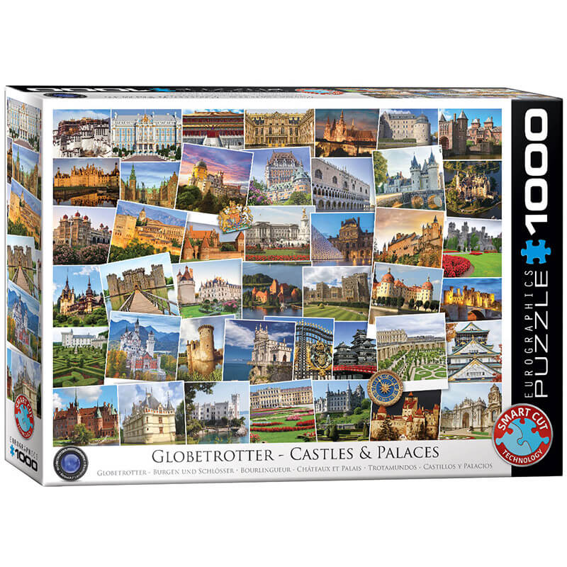 Eurographics Globetrotter Castles and Palaces 1000-Piece Puzzle - ODDO igračke