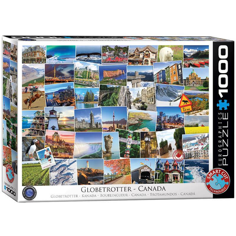 Eurographics Globetrotter Canada 1000-Piece Puzzle - ODDO igračke