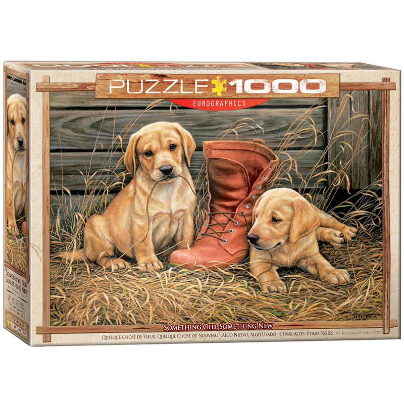 Eurographics Something Old Something New by Rosemary Millette 1000-Pieces Puzzle 0795 - ODDO igračke