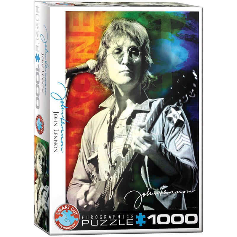 Eurographics Music John Lennon Live in New York 1000-Piece Puzzle - ODDO igračke