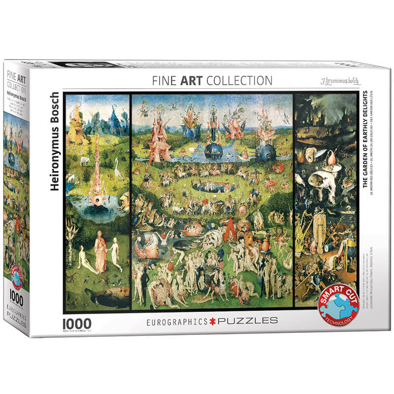 Eurographics Heironymus Bosch The Garden of Earthly Delights 1000-Piece Puzzle - ODDO igračke