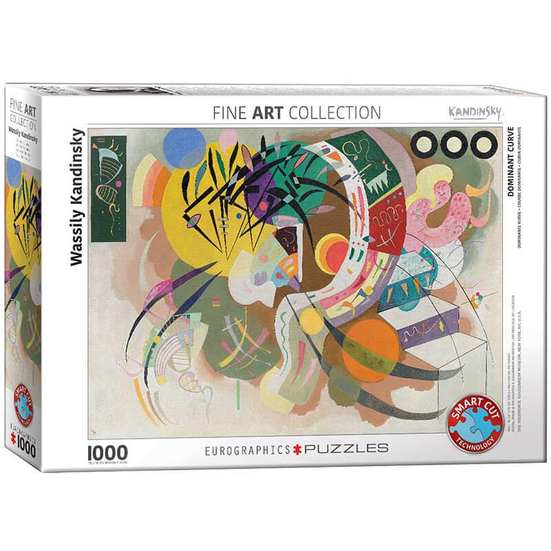 Eurographics Wassily Kandinsky Dominant Curve by  1000-Piece Puzzle 6000-0839 - ODDO igračke