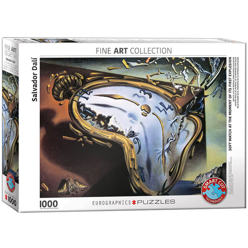 Eurographics Salvador Dali Soft Watch At Moment of First Explosion 1000-Piece Puzzle - ODDO igračke