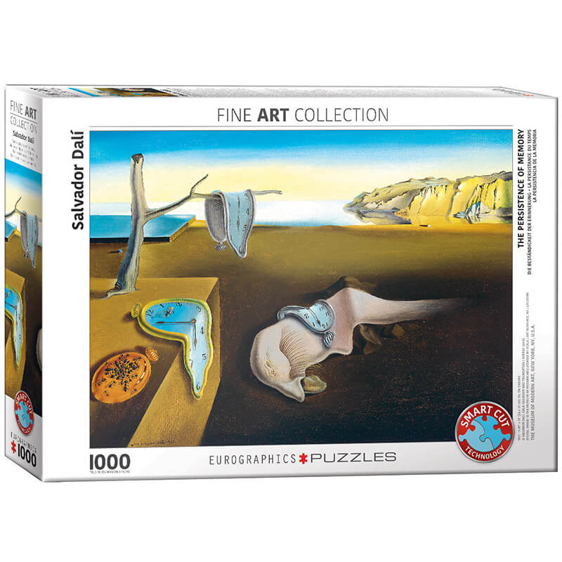 Eurographics The Persistence of Memory by Salvador Dali 1000-Piece Puzzle - ODDO igračke