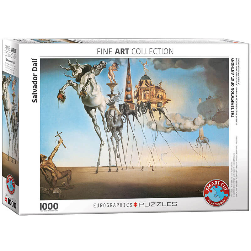 Eurographics The Temptation of St. Anthony by Salvador Dali 1000-Piece Puzzle 6000-0847 - ODDO igračke