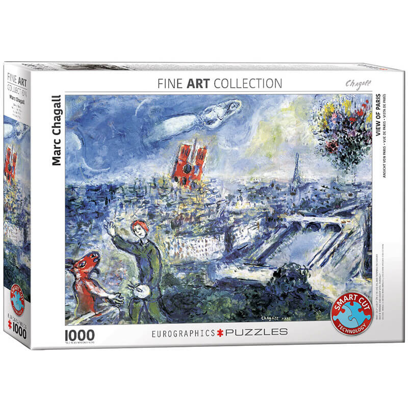 Eurographics Marc Chagall Le Bouquet de Paris 1000-Pieces Puzzle 0850 - ODDO igračke