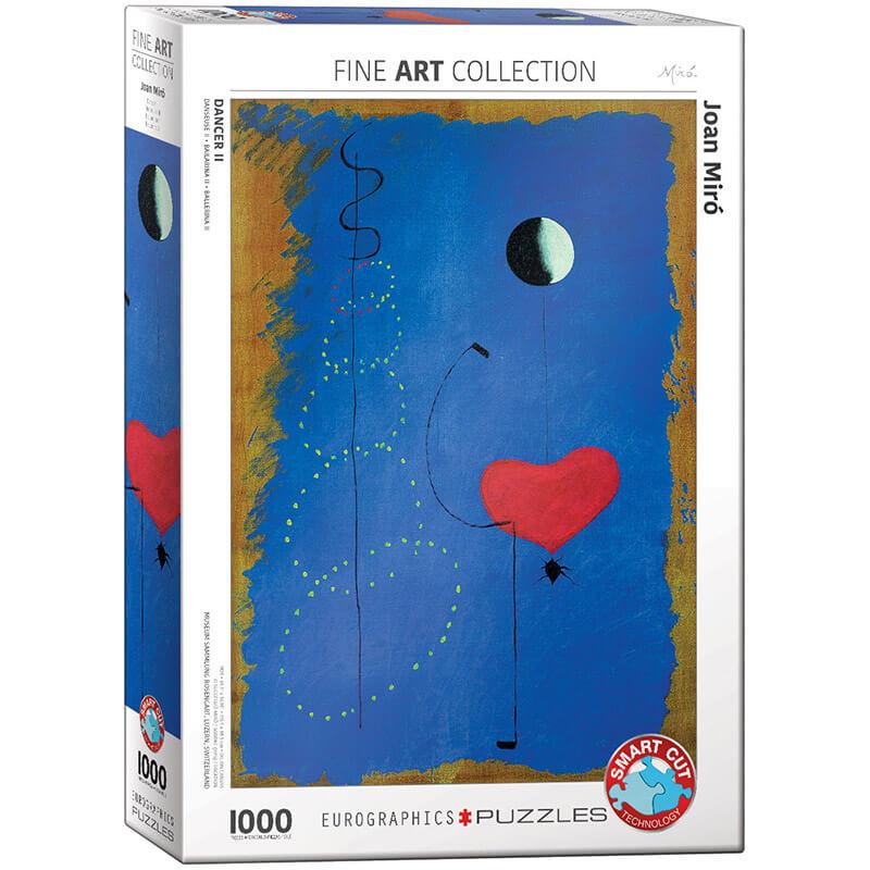 Eurographics Joan Miro Dancer II 1000-Piece Puzzle - ODDO igračke