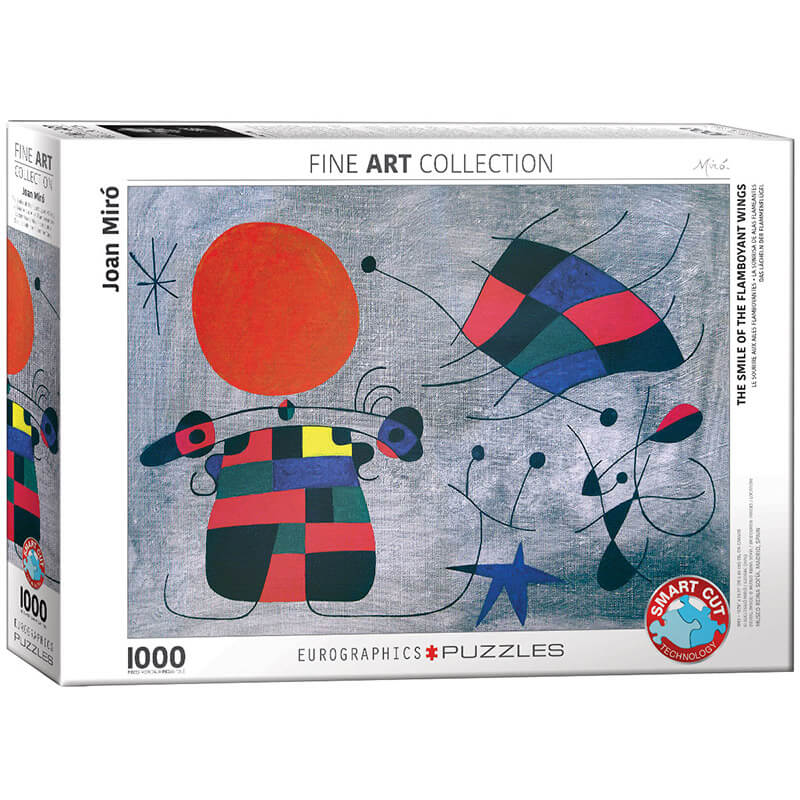 Eurographics The Smile of the Flamboyant Wings by Joan Miro 1000-Piece Puzzle - ODDO igračke