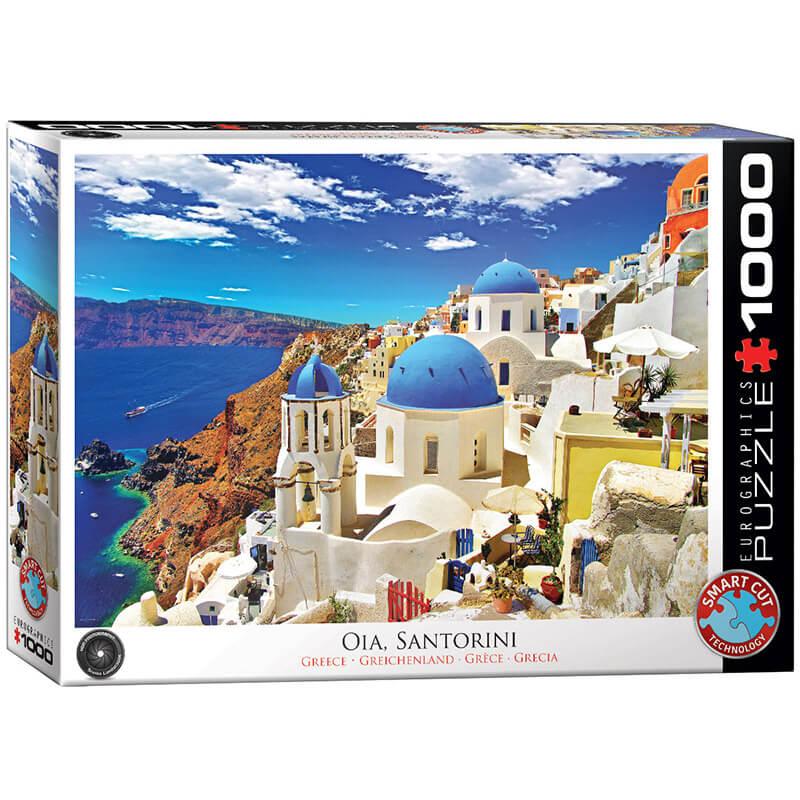 Eurographics Oia Santorini Greece 1000-Piece Puzzle - ODDO igračke