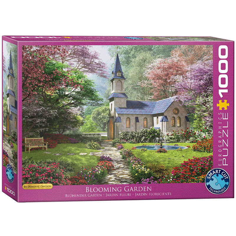 Eurographics Blooming Garden by Dominic Davison 1000-Piece Puzzle - ODDO igračke