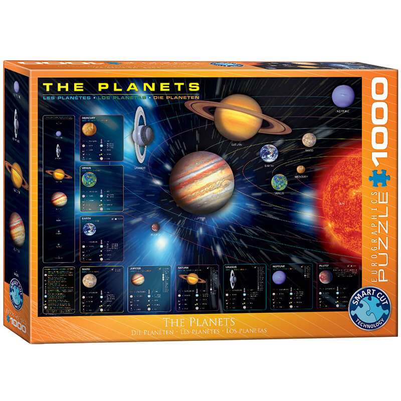 Eurographics The Planets 1000-Piece Puzzle 6000-1009 - ODDO igračke
