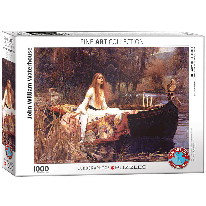 Eurographics John William Waterhouse The Lady of Shalott 1000-Piece Puzzle - ODDO igračke