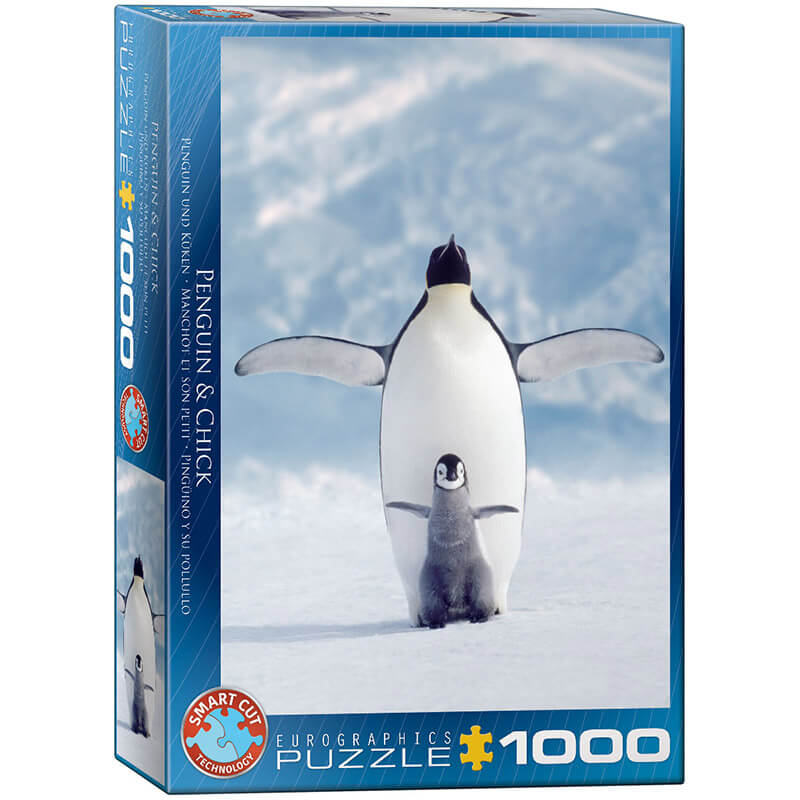 Eurographics Animals Penguin & Chick 1000-Piece Puzzle - ODDO igračke