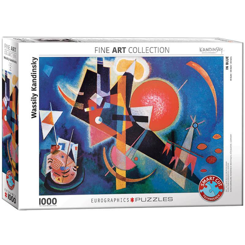 Eurographics Wassily Kandinsky In Blue 1000-Piece Puzzle - ODDO igračke