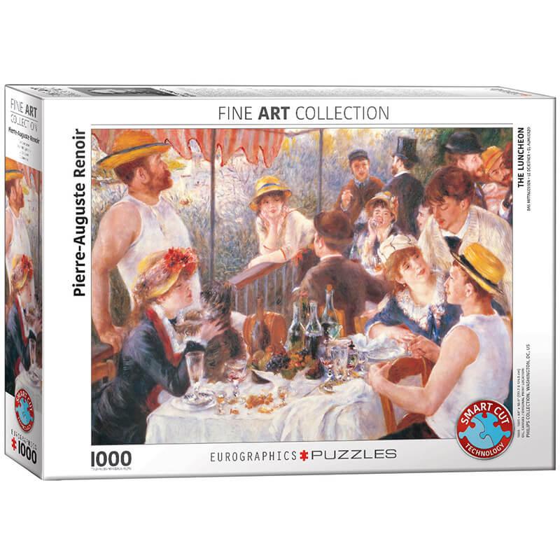 Eurographics Pierre-Auguste Renoir The Luncheon 1000-Piece Puzzle - ODDO igračke